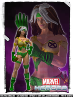 Marvel Heroes - Rogue (Savage Land) by DatKofGuy