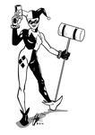 Harley Quinn commish by Chris-Isakson27