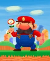 Mario from Super Mario Bros by Tonquez