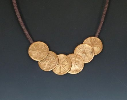 Dresden Files Coins necklace by Peaceofshine