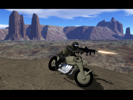 Combat Cycle by SpartaN-PhoeniX