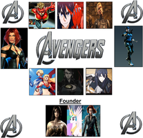 The Lady Avengers by WOLFBLADE111