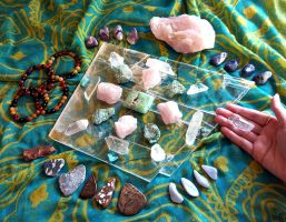 Crystal Grid Finds! by andromeda