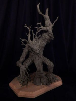 Tree-creature by Blairsculpture