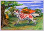 Ammy and golden peach 1 of 5 WG by SSsilver-c