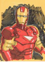 Iron Man 40 by Hodges-Art