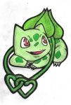 Bulbasaur tattoo design by ToriKURO