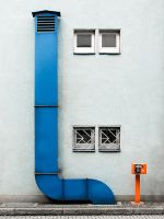 BLUE BIG orange small by schnotte