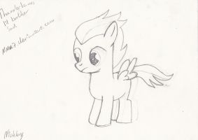 Thunderlane lil' brother by MMu7