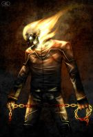 Ghost Rider: Vengeance by Gido
