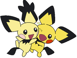 #172 - Pichu base by P-Pixie-Adopts-Bases