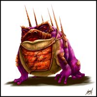 armored war toad by beowolfkiller2