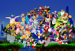Season Finale of Sonic the Hedgehog Video Game by 9029561