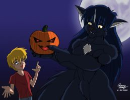 Wendy and Henry Halloween Gift by Havoc by Lonebeatle