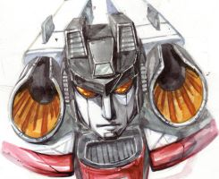 Transformers Armada_Starscream by Mina-Enid