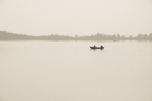Boating in murky atmosphere by sufiblade