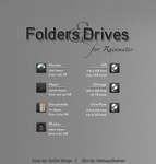 Folders and Drives by OminousShadows
