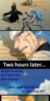 Ichigo Messes With A Passed-Out Grimmjow by zest1513