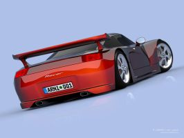 Racer III Back 2 by arni