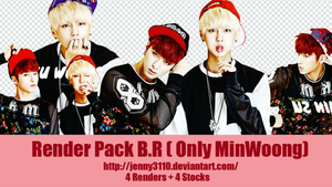 [Render Pack] : B.R ( Only Minwoong ) by Jenny3110