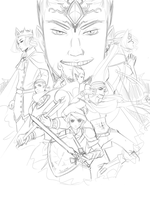 LoZ: MG - Cover Redone Sketch by Aeridis