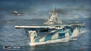 World of Warships USS Yorktown by 121199