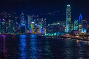 Hong Kong Skyline by KML032