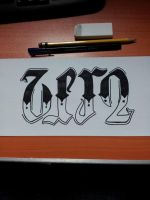 Lettering and Ambigram 2 by miqueleno