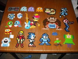 Perler Bead art - Misc2 by Miuki-Salvarus