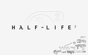 Half Life 2 Weapon Wallpaper by Zeptozephyr