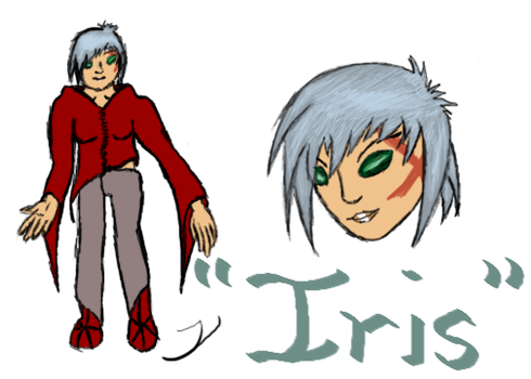 Iris :: Yelshua contest entry by Q-Lok