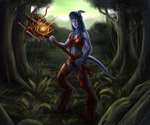 Draenei Fanart by Zorrentos