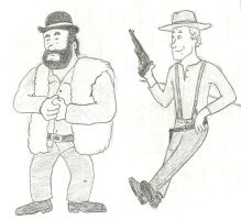 Bud Spencer and Terence Hill 2 by marcobrunez