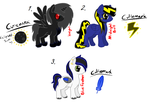 Selling Old OCs all 40 points by DibFan4LifeX3