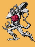 Transmetal Dinobot by Canalus