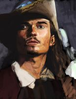 Will Turner by DemetrPaints