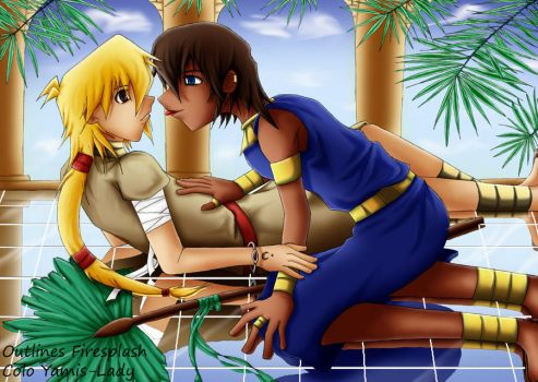 Collab: Egypt Love by Yamis-Lady