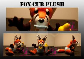 fox pup - for sale! by FurryFursuitMaker