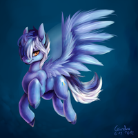 Blue Blaze by Caindra