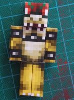 Bowser Papercraft by MunsenTheBiscuit69