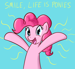 Smile, life is ponies... again! by Whatsapokemon