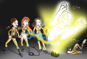 Fashion Club Ghostbusters by NeckStander