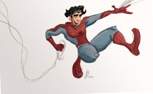 Spider Joey by Prydester
