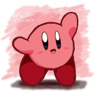 One Layer Kirby by riodile