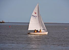 Sailing on the River V by DundeePhotographics