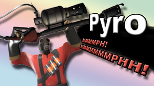 Pyro for Super Smash Bros. 4 by Rylade475