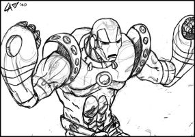 Iron Man - Crossing Armor by LiberiArcano