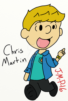 Chris Martin - Peanuts Style by J-M-P-16