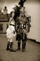 steampunk golddd by overlord-costume-art