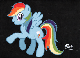 Rainbow Dash by Squeemishness